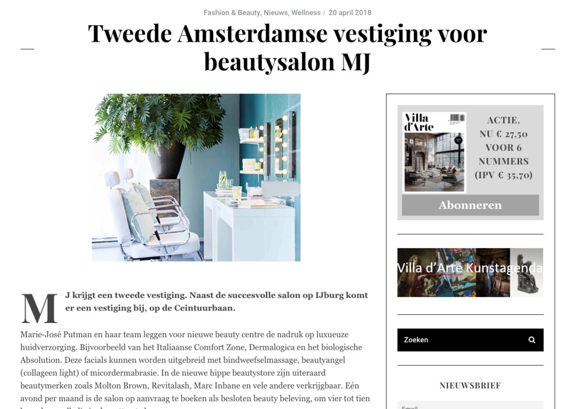 MJ | mjamsterdam | beautysalon | schoonheidsspecialist | beauty | beautyaward | influencer | IJburg | teammj